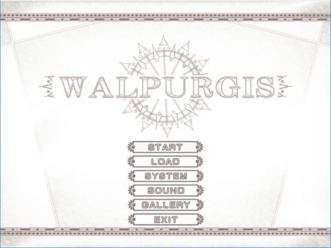 ヴァルプルギスタイトル画面